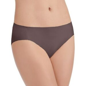 "/""Midnight Black/"" XL Size 8 Vanity Fair Bikini Panties 18242 Nearly Invisible NEW"