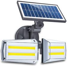 New listing Qanlone Solar Motion Sensor Light Outdoor 80 Cob Led Flood Lights 6000 Lumen
