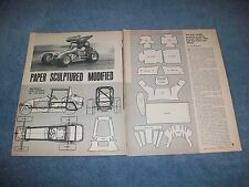 1966 How-To Tech Article on Building a 1/25 Scale Super Modified From Paper