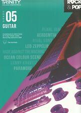 Trinity Rock & Pop Exam Guitar Grade 5 Five 2018  Book FREE 1st Class Postage