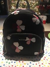 Kate Spade Dawn Dusk Buds Medium Backpack In Black
