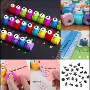 Mini Craft Paper Punches / DIY Scrapbook Cutters - 14 Shapes (Flat Rate Postage)