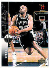 Negele Knight 1994 Upper Deck San Antonio Spurs insert Basketball Card no.66