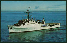 USS Juneau LPD-10 postcard US Navy ship amphibious transport dock (card1of2)