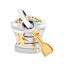 Pandora Love Charms Beads Chair Footprints on Beach Summer Silver Plated NEW