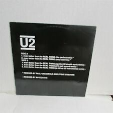 "U2 Even Better Than The Real Thing 5 Mixes 1992 12"" VINYL Oakenfold APOLLO 440"