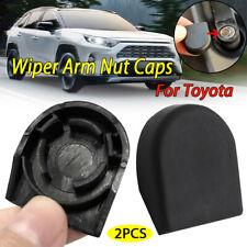 2pcs Windshield Wiper Arm Nut Cover Bolt Cap For Toyota Camry Highlander Celica
