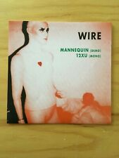 Wire Mannequin 12XU New Versions Joy Division Fall Clash Cool Sleeve Rare 7""