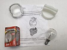Bosch Neff Siemens Oven Lamp Light Bulb Globe + Glass Cover with Removal Tool