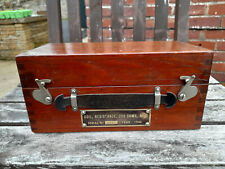 More details for vintage ww2 resistance box/wheatstone bridge - w.g.pye,cambridge, dated 1940