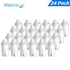 24 x Waterdrop Filter Cartridge Replacement for Brita Classic, Kenwood Hydrology