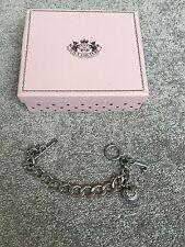 Juicy Couture Classic Silver Bracelet