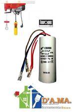 Condensatore 3 fili ricambio paranco l'europea tiratutto 125 kg 12.5 mf + 3.5 mf