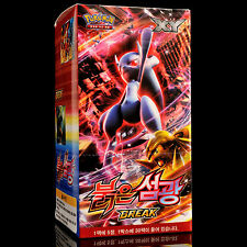 Collection Carte Pokémon XY Impulsion TURBO EX Boîte de 30 Booster Packs Coréen