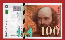 (Ref: A.000) 100 FRANCS CÉZANNE 1997 (NEUF) PETIT NUMÉRO 000002019