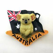Australia Koala Bear 3D Resin Fridge Magnet Tourist Travel Souvenir Home Decor