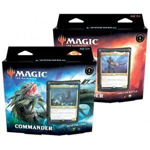 Magic the Gathering MTG Commander Legends Commander Decks (Pair)