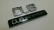DUB EDITION BADGE SET VW VOLKSWAGEN GOLF GTI GTD TDI R TRANSPORTER BEETLE