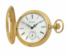 Gold Plated Pocket Watches with 17 Jewels