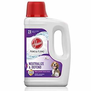 Paws & Claws Deep Cleaning Carpet Shampoo Stainguard  64oz Formula AH30925 New