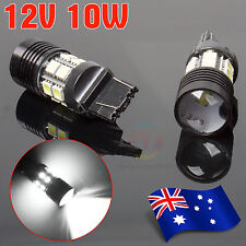 2X T20 W21W 7440 7443 Car LED Light Backup Reverse 12 SMD 5050 Lamp Bulb White