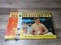 Gilbert Fun With Electricity 1938 Set Complete