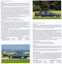 BMW ALPINA B3 B6 E30 B10 E34 B11 E32 B12 Sportscar Prospekt Brochure 1990 43