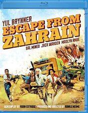 Escape from Zahrain (Gina Lynn) Region A BLURAY - Sealed