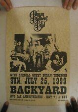 The Allman Brothers Poster Band Shot Backyard 1999 Susan Tedeschi