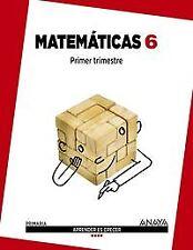 (15).MATEMATICAS 6ºPRIM (ARG/AST/CM/VAL/EXT/MUR). ENVÍO URGENTE (ESPAÑA)