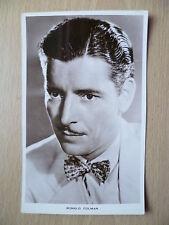Vintage Film Star Postcard- RONALD COLMAN