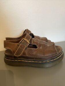 doc martens us size 5 leather sandals