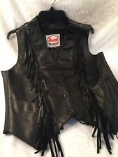 Route 66 Highway Leathers Extra Large Vest Motorcycle Leather Vest Biker Vest