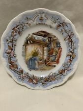 Royal Doulton Brambly Hedge Winter Plate-Jill Bark 00004000 lem-Excellent Conditon