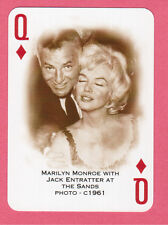 Marilyn Monroe Sands Playing Card Queen of Diamonds