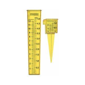 Taylor 2 for 1 Yellow Sprinkler & Rain Gauge 2715