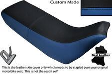 BLACK &ROYAL BLUE CUSTOM FITS YAMAHA XT 660 Z TENERE 3YF OLD SHAPE SEAT COVER
