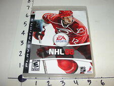 EA Sports NHL 08 / Sony Playstation 3 (PS3) - Eric Staal cover / 2007 Excellent