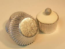 50 x Silver Foil Muffin / Cup Cake cases