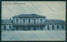 Ravenna Faenza Stazione cartolina QQ9990