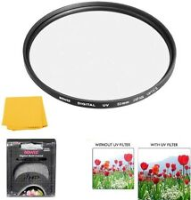 Bower 55mm UV Lens Filter for Sony Cyber-shot DSC-H400 DSC-HX400 DSC-HX300