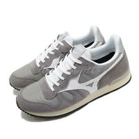 Mizuno GV87 RunBird Grey White Men Running Casual Shoes Sneakers D1GA1905-05
