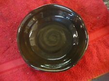 Tabletops unlimited Campagnolo Cereal Soup salad Bowl Swirl brown