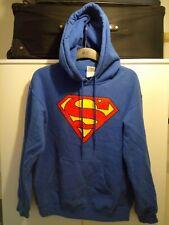 "Gildan ""superman"" Hoody, Size Small, Colour: Blue, Male/ Female"
