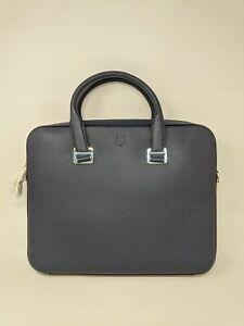 Men's Dunhill Cadogan Slim Double Document Case, Size OS - Navy Blue