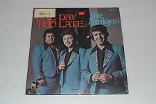 The Amigos~One Day Too Late~RARE Xian Gospel LP~Private Press~Christian