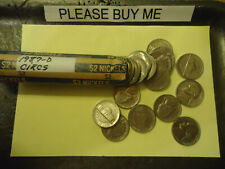 1987-D ROLL OF NICKELS          C/S & H AVAILABLE UPON REQUEST