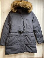The North Face Dryvent Women's Size L Arctic Parka II Down Coat Jacket Black