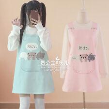Japanese Lolita Sweet Harajuku Vintage Cute Kawaii Princess Sweatshirts Dress #3