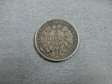 2 Francs cérès argent 1894 TB rf147